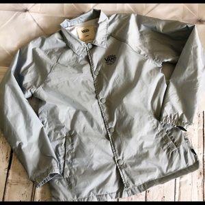 fd40542bff Vans Jackets   Coats - VANS Off The Wall Boys Youth Torey Coach Jacket L
